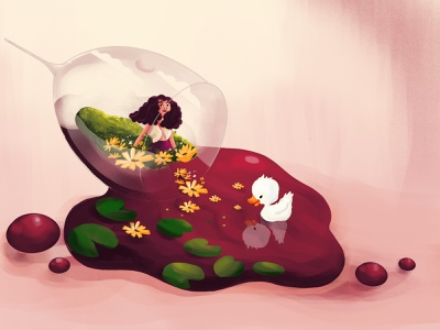 Luxurious Wine design logo cartooning red wine wine illustration art cartoon illustration illustrator ill ui