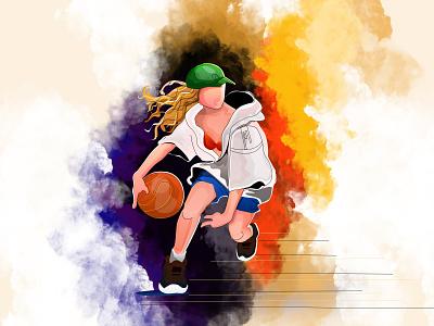 Basket ball cartoon cartooning illustration illustration art branding cartoons illustraion illustrator cartoon illustration best design