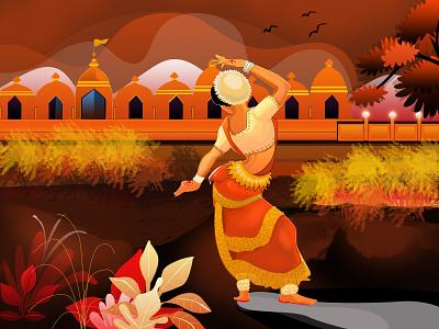 Dancing cartoons illustration vector illustrator design illustraion cartooning illustration art cartoon illustration best design
