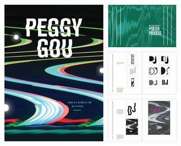 Peggy Gou: Concert Poster and Process Book