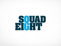 Squad Eight Logo Design
