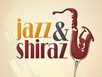 Jazz & Shiraz event logo