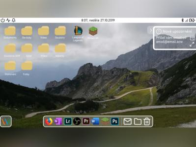 Operating System Desktop Idea