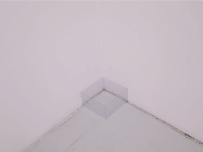 A box in the corner