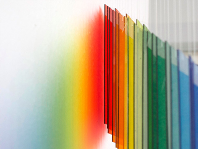 Details in shadows details shadow exhibition rainbow perspective art color