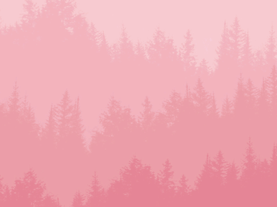 The pink forest forest pink illustration photoshop