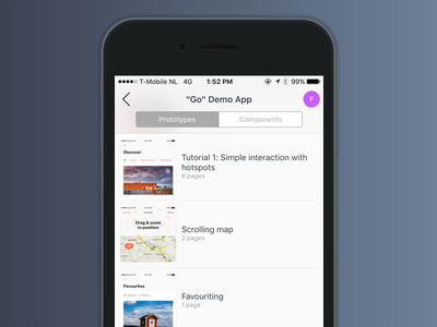 Introducing the iOS App for Atomic ux web app mobile prototyping atomic.io atomic
