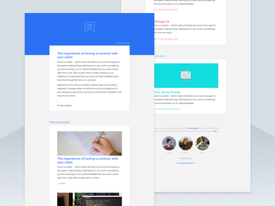Newsletter blue tech email template email newsletter template template newsletter