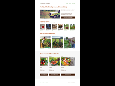 Harvest Runners - local organic food delivery service