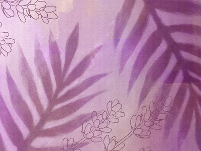 Watercolor Coconut & Lavender