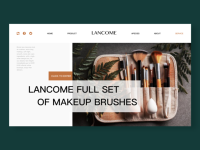 Cosmetic website