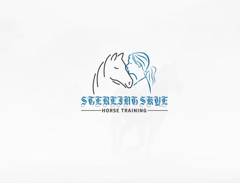 Horse training logo