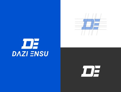 Dazi Ensu animation illustration design minimal lettering ui branding logo illustrator vector