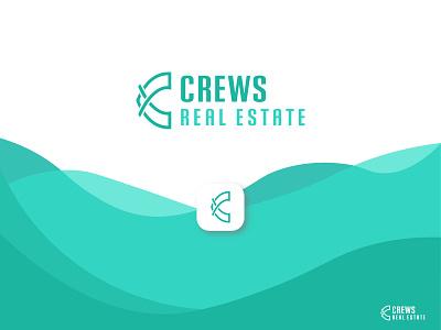 Real estate logo illustration flat design minimal lettering typography type logo branding vector illustrator real estate logo