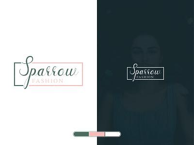 Fashion Logo illustration flat design type minimal lettering typography logo branding fashion logo fashion vector illustrator
