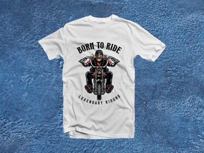 Born To Ride Legendary Riders design minimal lettering logo branding vector illustrator typography biker tshirt biker tshirtdesign tshirts tshirt