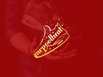 Shoes Logo illustration flat design type minimal lettering typography logo branding vector illustrator
