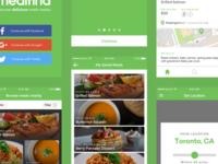 Meal Finding App UI