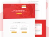 IELTS Landing Page
