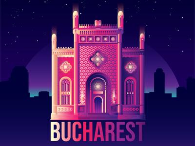 Bucharest's Coral Temple