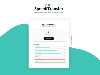 Meet SpeediTransfer (Drag&Drop)