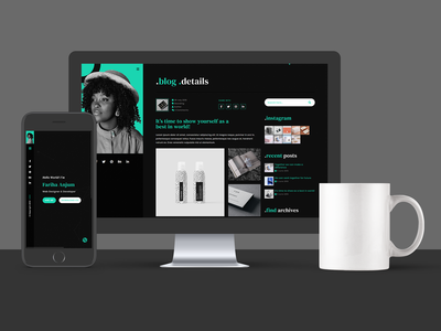 Fariha - Personal Portfolio & Resume HTML5 Template