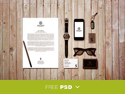 Identity mockup viet vietnam nam mockup freebie identity psd download stationary brand free