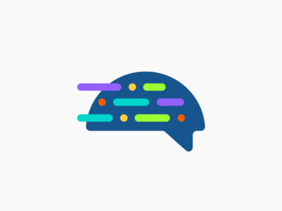 Brain/Chat/Code icon