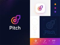 Streaming music startup logo_Day 9/50