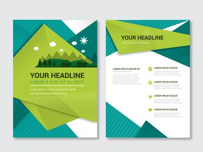Http Www Freepik Com Free Vector Nature Brochure Template  Htm