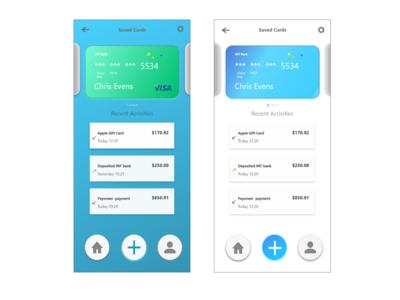 Finance app basic design
