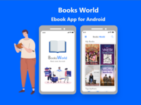Book world Mobile App Design Android