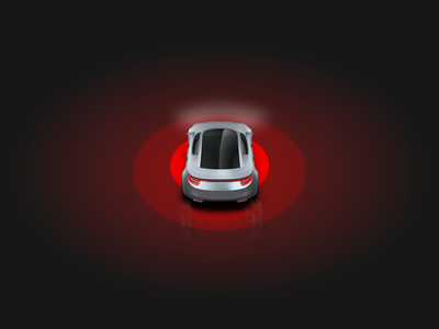 Safe driving mobile app with real-time feedback ux application driving car graphic design automotive motion graphics 3d animation ui