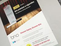 Brio Print Ad