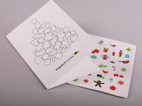 2013 Sticker Xmas Cards