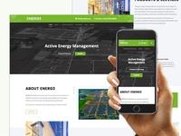 Energ3 Wordpress Website Design