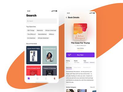 E-Book Reader App interaction design uidesign design mobile app design ui prototype ui ux design ui design interface app design