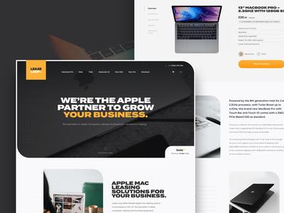 Apple Leasing Website - Work in Progress