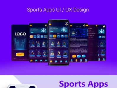 Sports Apps UI UX Design