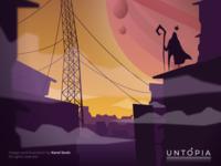 Untopia 04 Radar - Game concept ilust