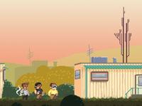 Trailer boy - Pixel art game