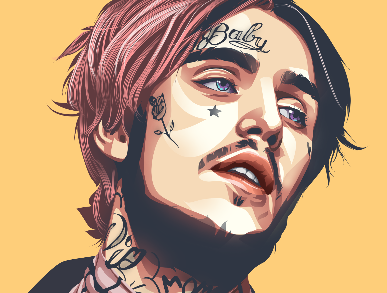 The Legend of lil peep by Awal Hasan on Dribbble