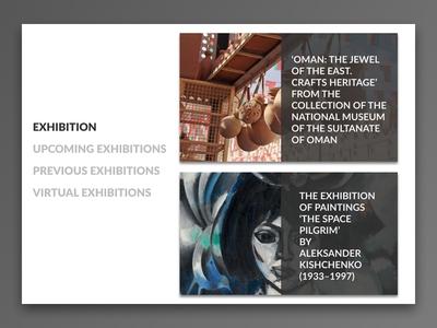 Museum Redesign WEB