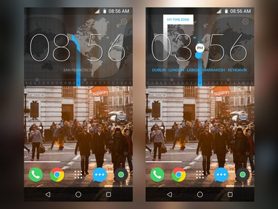 Time Widget for Android