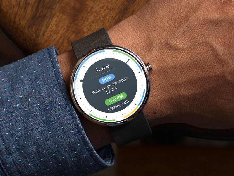 Android Wear - Calendar Events smart watch watch moto360 android wear wear wearables calendar events to do todo tasks