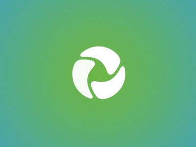 Development-manufacturing-distribution-retail value chain startu 3 three tech circle saas identity brand startup logo