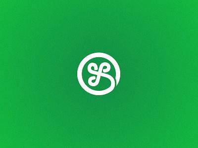 Fintech Startup - Brand Identity circle leaf four clover luck flower identity logo brand fintech startup
