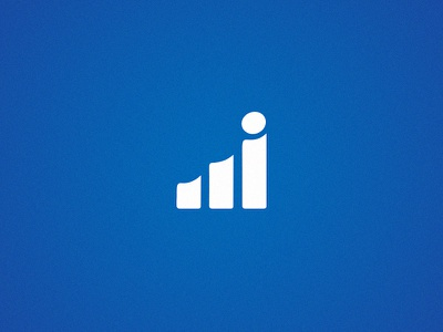 Fintech Startup - Brand Identity financial money track upward progress scale brand identity metrics logo startup fintech