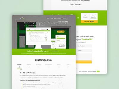 Online Property Dev - Landing Page