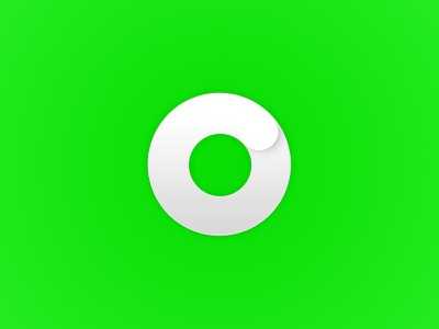 Personal Logo spinning moving dynamic progress logo circle